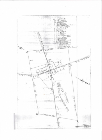 1886 Map of Hillsboro