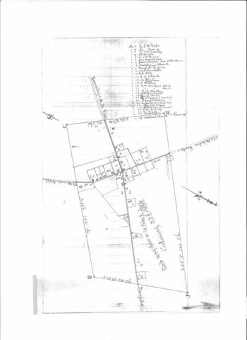 1886 Map of Hillsboro